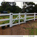 Innovative horse fence gate