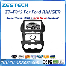 best quality for Ford ranger car auto accessories bluetooth car dvd player with built in dvb-t optional