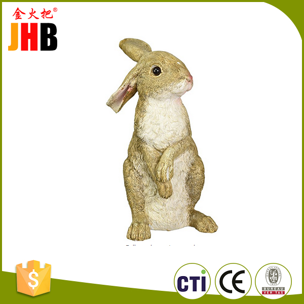 New arrival ceramic easter rabbit figurines for wholesale