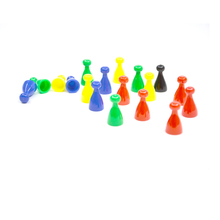 Game components manufacturer plastic board game pieces and pawns