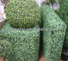 Artificial decorative boxwood topiary plastic topiary balls