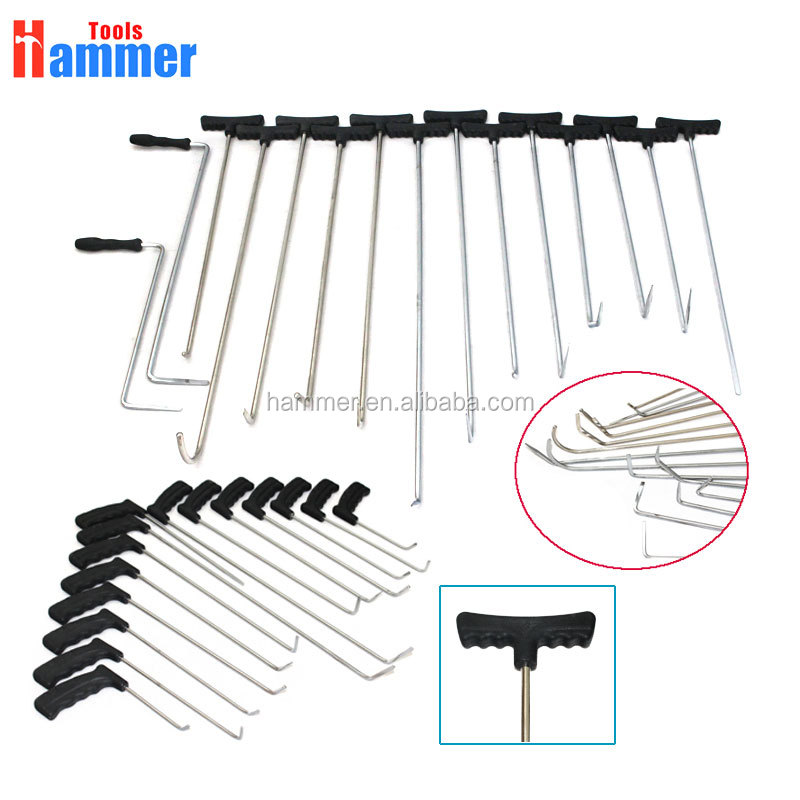 the new PDR Hook Tools Kit Push Rod Dent Removal Paintless Dent Repair Repair Tools Set