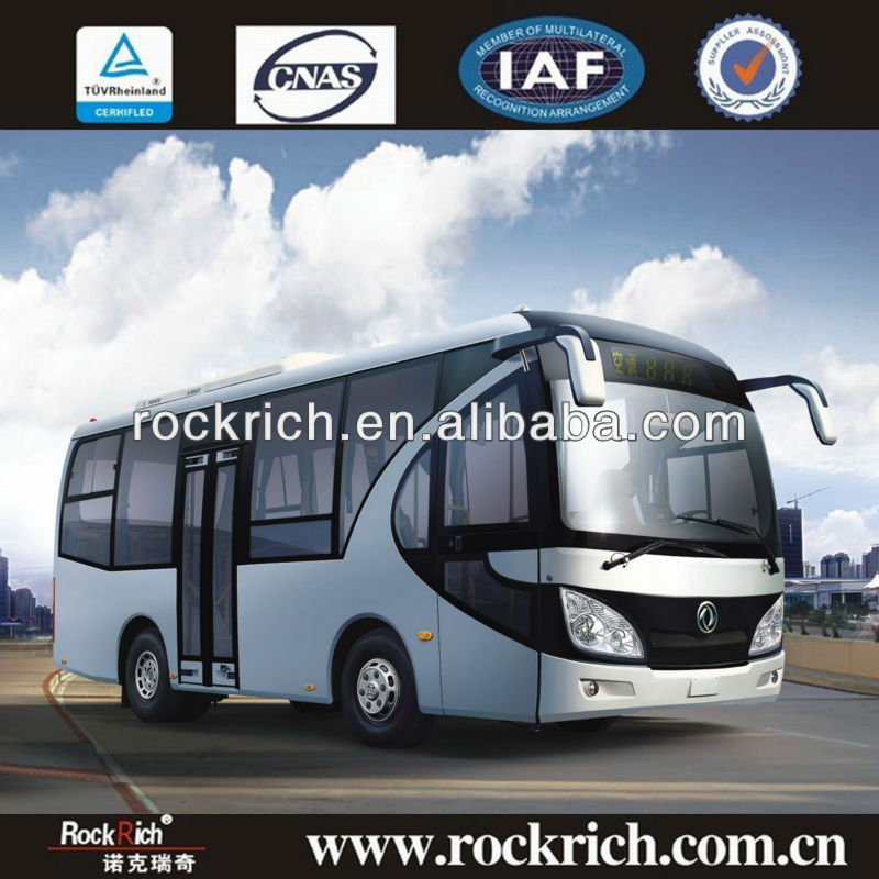 Popular in South America !!! 7m dongfeng mini bus dimensions, 25seats, LHD, Cummins Euro 3, front engine