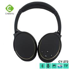 2016 V2.1 high quality retractable foldable stereo sound wireless bluetooth headphones