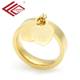FQ Wholesale china stainless steel band women jewelry ring