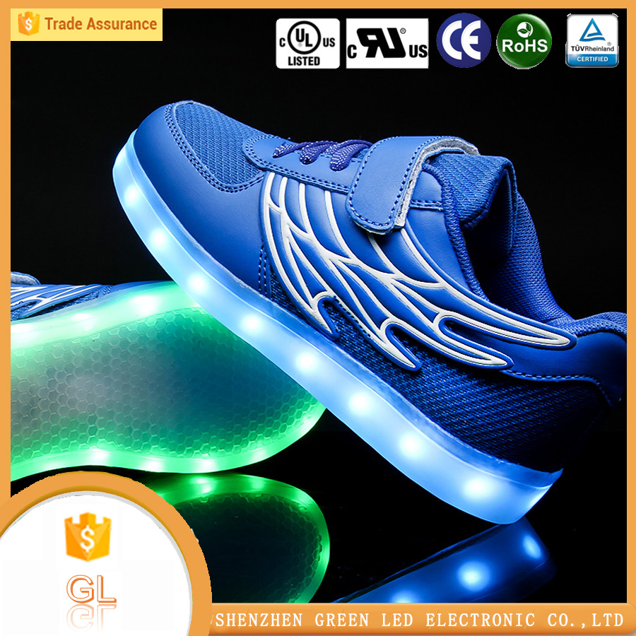Party Favor Event hight quality led light up kids shoes with CE,RoHS Certification