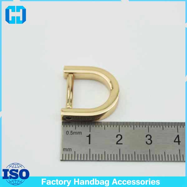 Best Quality Alloyed Screw in D Rings Purse Handle Loops Dee Ring