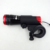 Bright Aluminum battery LED Flashlight caution rear front bike Bicycle Light lamp