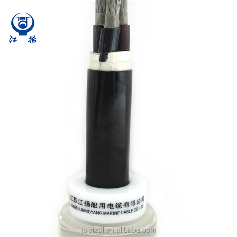 Stranded copper wire marine power electrical cable