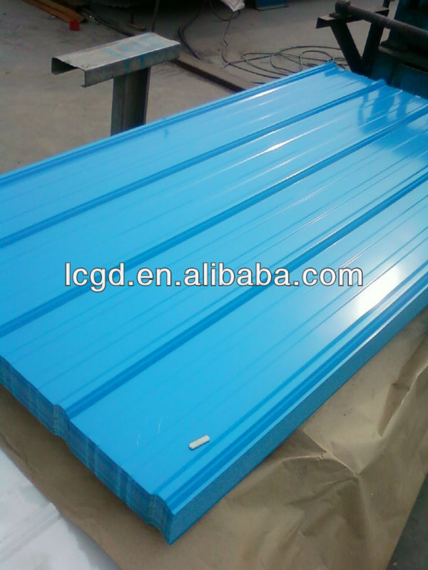 New Product Prepainted Corrugated Steel Sheet/Metal Roofing Sheet Made in China