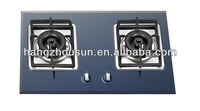 2 Burner Glass Gas Cooktop