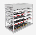 smart car parking system, Multilayer lift-sliding mechanical parking system