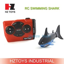 Funny shark toy RC robotic fish toy with 27Mhz/40Mhz by ABS for sale.