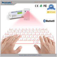 Infrared Wireless Laser Projector Keyboard With Bluetooth