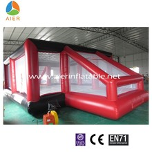 Newest CE certificate inflatable soap soccer field,soapy football stadium