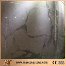 Big flower white stone slabs of white marble katni