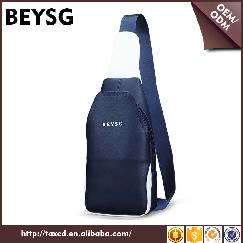 Cheap price BEYSG casual PU sling bag for school