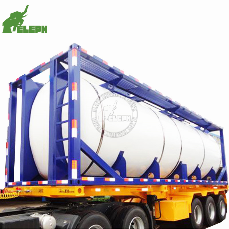 Various types lpg lng fuel iso tank <strong>container</strong> diesel for sale