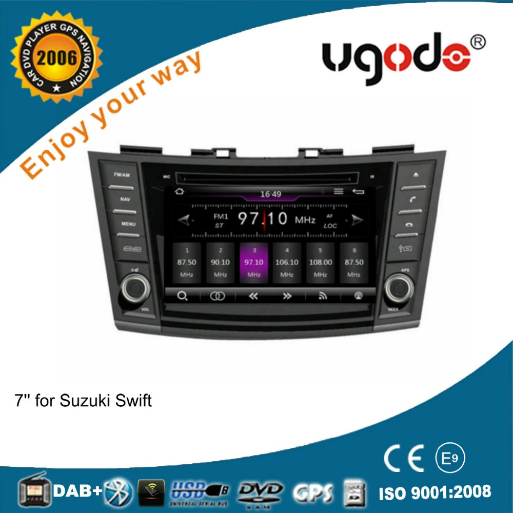 ugode WinCE 6.0 car stereo 2 din touch screen car dvd for Suzuki Swift audio system 16GB Flash 2011 2012