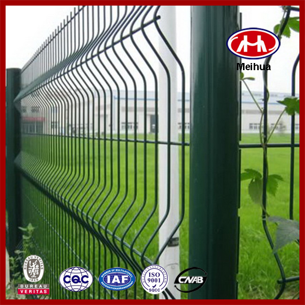 Factory Price cyclone wire fence philippines with pvc coated