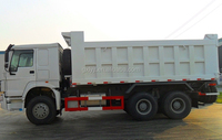 sinotruk hino HOWO 6x4 dumper truck with wheel rims, it is amphibious vehicles for sale