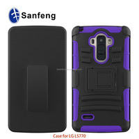 Carry By Metro Pcs For Lg Ls770 Mobile Phone With Holster Smart Case