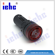 AD16 series hot sale high quality 22mm flash buzzer with led