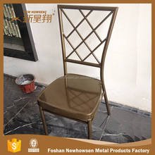 Wholesale high quality nets back aluminum chiavari chair