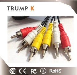 Hot sell best design rca cable with ground wire