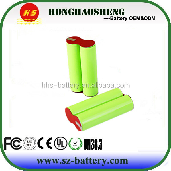 Cylinder Lithium ion Battery 18650 1S2P 3.7v 4000mah accu For Power Tools