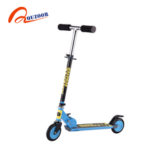 2017 new style 120mm PVC sun flower wheels kick board scooter for sale