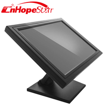 Resistive / capacitive touchscreen optional 15 inch touch screen monitor