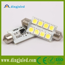 High Quality 24v festoon 5050smd 8pcs car interior light fixture led reading lamp