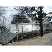 Temporary sport ball games education entertainment baseball grandstands Tribune theater sport bleachers stadium seating