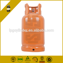 12kg 26.5 liter empty lpg gas cylinder, gas tank for Bengal market with valve