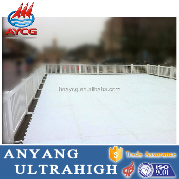 UHMW Synthetic Skating Ice Rink/Hockey Training Shooting Sheet/Panel/Fence