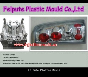 plastic front / rear suto lamp mould car lamp mould