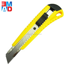 Box cutter 18mm stainless steel blade utility knife