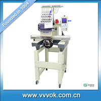 Single head cap and t-shirt embroidery machine prices