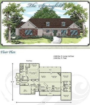 The Springfield 4br 3bth 2 640sq Ft Buy Pre Built Home