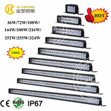 36W/72W/108W/144W/180W/216W/252W/288W/324W light bars trucks led, car roof top ceiling star light, oriely auto parts