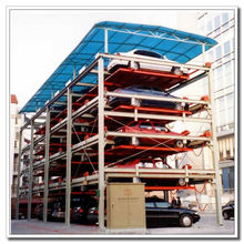 2-6 Floors Portable Car Parking System Puzzle Car Parking System Vertical Intelligent Parking Assist System