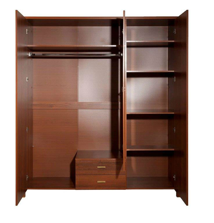 Furniture Alvero Wardrobe with mirror 3D2S