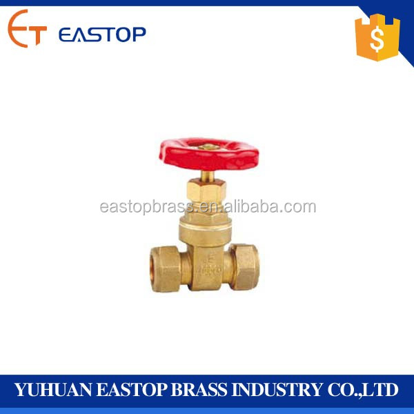 PN20 Brass Stem Water DN15 Gate Valve Made In China