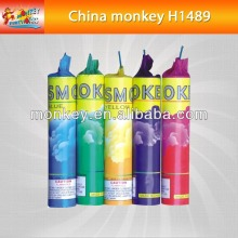 novelty toys fireworks color thunder Smoke tube Fountain for children for sale Fireworks[H1489]