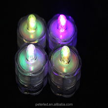 LED submersible light waterproof kinds of color decoration for party and festival