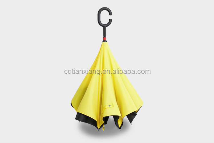 Innovative Inverted Umbrella for Cars