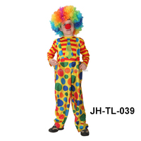 Halloween professional clown costumes