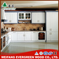 L Shape Solid Wood Kitchen Cabinet With Drawer
