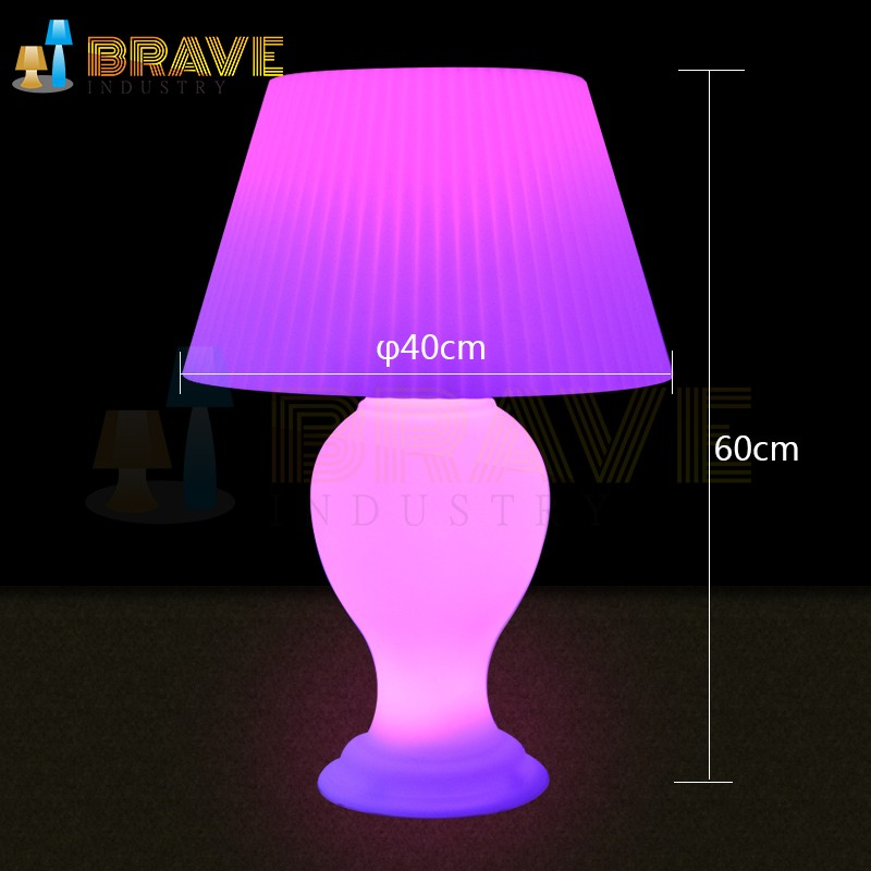 Office home Club LED table lamp with LED reading light